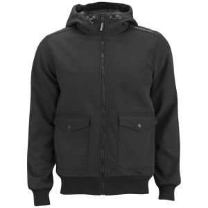 Bench Men's Illude Hooded Jacket - Black für 37,13€  (TheHut)