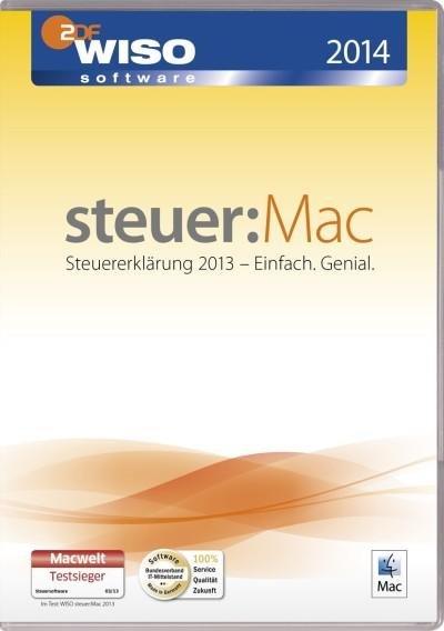 WISO steuer: Mac 2014 (für Steuerjahr 2013) für 21,25 EUR bei buch.de
