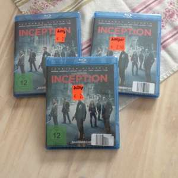Inception BluRay bei AldiNord 2,50€ lokal(Cuxhaven)