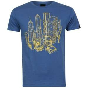 (UK) Bench Men's Xray City T-Shirt - Blue für 7.44€ @ Zavvi