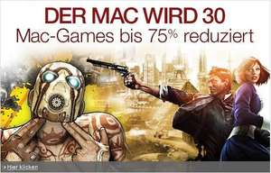 u.a. Borderlands 2 GOTY (Game Of The Year) [Steam] [WINDOWS/MAC] 10,97€ amazon.de & weitere Spiele im Weekend Deal 30 Jahre Mac
