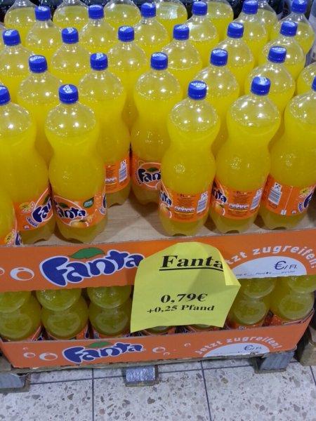Lokal@Nordhorn Zimmermann Fanta & Cola Light 2 Liter für 79ct