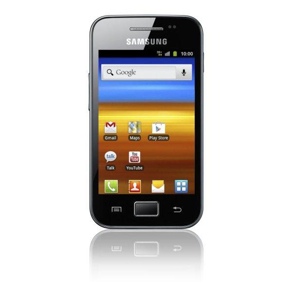 Samsung Galaxy Ace S5830i Smartphone onyx-schwarz für 89€ frei Haus @AMAZON