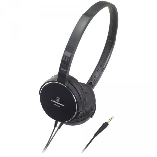 Audio-Technica ATH-ES55 BK Kopfhörer in schwarz für 74,90€ frei Haus @DC