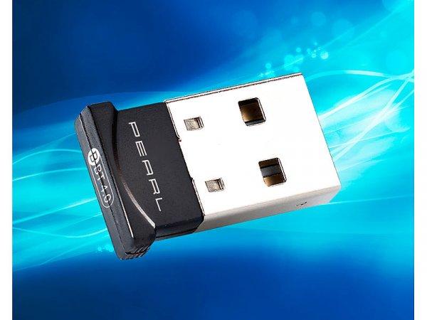PEARL Ultra-Mini Bluetooth 4.0 USB-Dongle