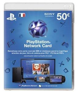 PlayStation Network Card 50€ für 46€ inkl. VSK @amazon.fr