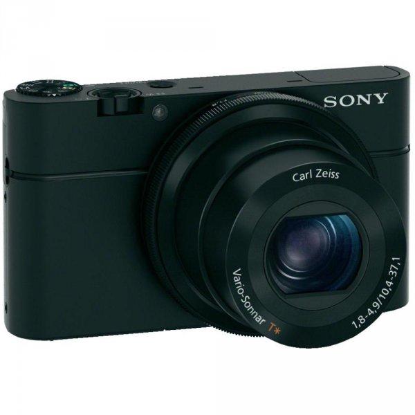 "Sony DSC-RX100 Cyber-shot (CMOS, 20,2 MP, 3,6x opt. Zoom, 3"" Display) für 379,- € @ Conrad"