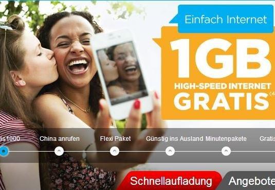 1-GB-Daten-Flat im D1-Netz einen Monat effektiv kostenlos - Aufladung von 10€ notwendig [PrePaid - Lebara Mobile]