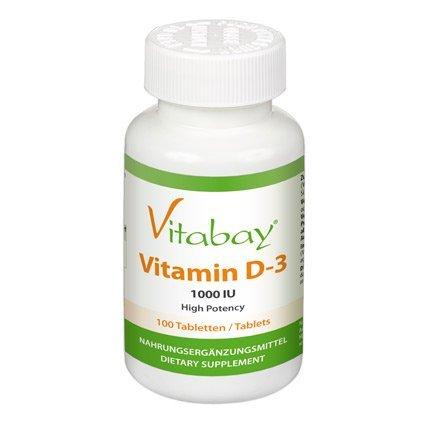 Amazon: Vitamin D3 1.000 I.E. - 100 Tabletten für 7,99€