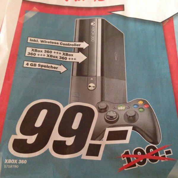 Xbox 360 e @ Mediamarkt oggersheim