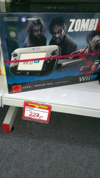 (lokal) Mediamarkt Sachsenallee Chemnitz Wii U - Konsole, ZombiU Premium Pack - Limited Edition