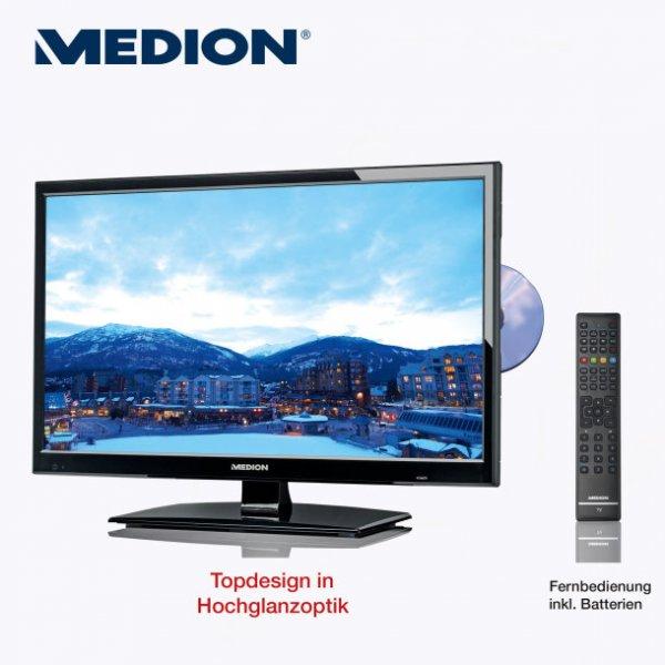 "Ab 30.01. / Aldi Nord / Medion 54,6 cm/21,5"" LED-Backlight-TV mit integriertem HD-Triple-Tuner und DVD"