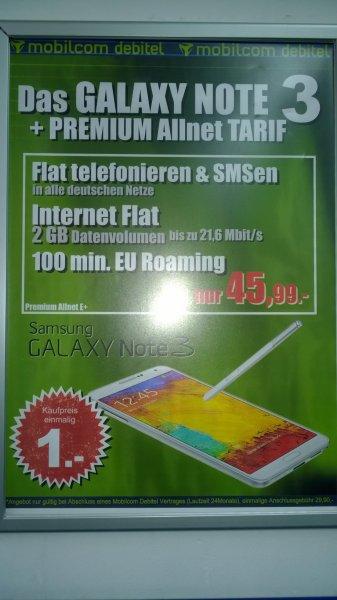 Galaxy Note 3 mit DVBT Tuner