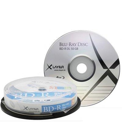 [CDRohlinge24.de] 2x 10 Stück in Cakebox:  XLayer Blu-Ray BD-R 50 GB - 4x