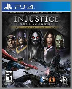 Injustice: Gods Among Us Ultimate Edition - PS4 [Digital Code] auf Amazon.com