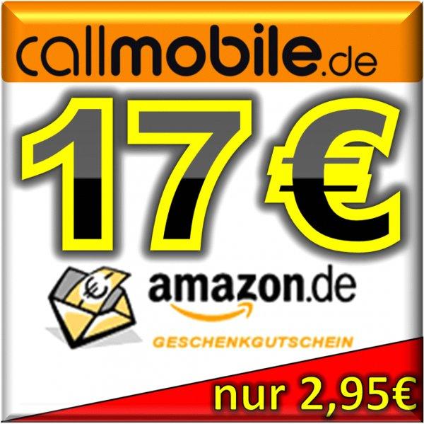 10€ callmobile + 17€ AMAZON