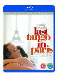 Blu-ray Klassiker Der letzte Tango in Paris - UK-Import, dt. Tonspur @Amazon.co.uk