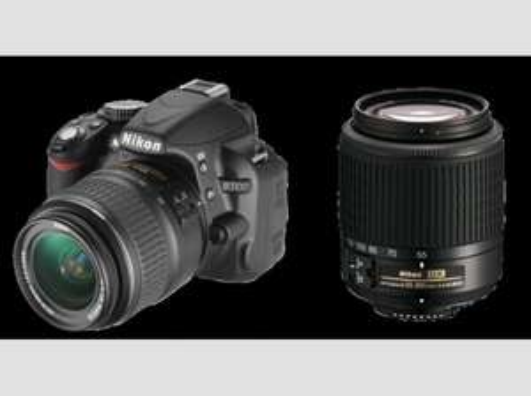 NIKON D 3100 + 18-55IImm +  55-200mm