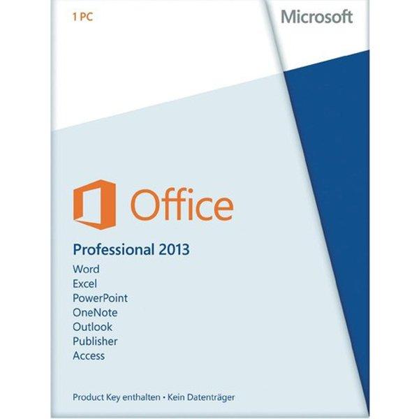 Microsoft Office 2013 Professional Key für 119,90€ @eBay