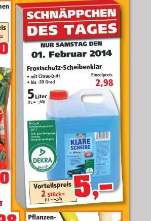 Frostschutz  Scheibenklar -20 Grad10  Liter 5€