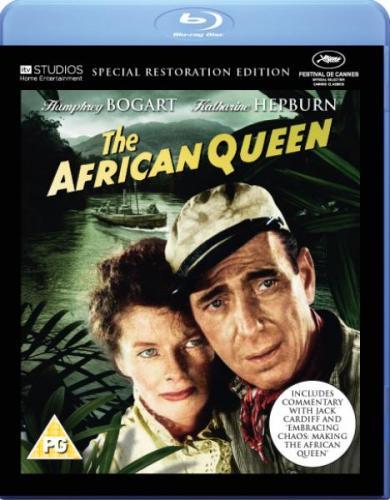 Blu-Ray The African Queen (ohne dt. Tonspur, dafür mit Untertiteln) bei Zavvi für £7.95