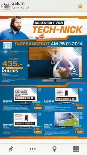 PHILIPS 46PFL4208K (lokal?) Berliner Saturn prospekt nur diesen Sonntag