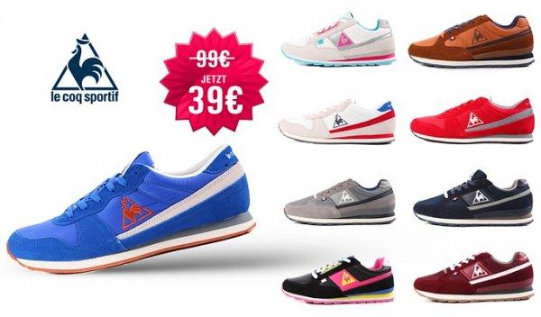 Le Coq Sportif Sneakers für 39€ inkl Versand + Newsletter anmeldung für 34€