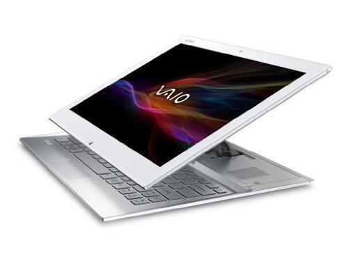 Sony VAIO Duo SVD1321X9EW 33,8 cm (13,3 Zoll Touch) Convertible Ultrabook (Intel Core i7 4500U, 1,8GHz, 4GB RAM, 128GB SSD, Intel HD 4400, 4G/LTE, NFC, Win 8 Pro) weiß