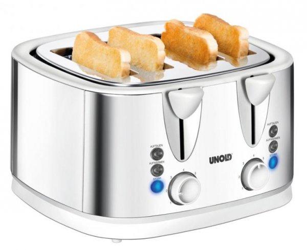 """Unold 38801 Toaster """"Quattro"""", 4 Scheiben Toaster"""