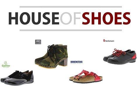 (Lokal Essen) - Houseofshoes hochwertige Markenschuhe € 50,00 Gutschein für € 20,75