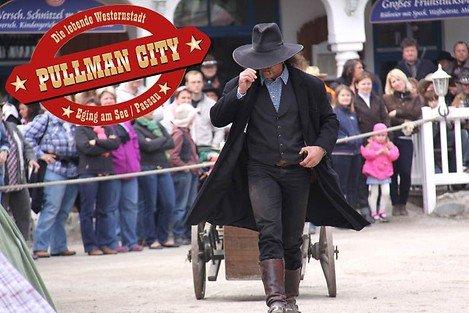 (Lokal - Bayerischer Wald) - Pullman City Einzelkarte anstatt € 13,00 für € 6,50 zzgl. Versand