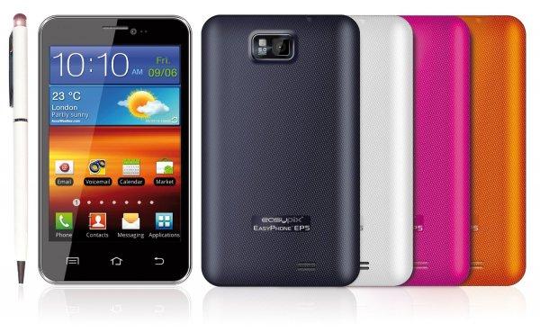 "Easypix Easyphone EP5 auf Tiefstpreis (5""-Smartphone) @Amazon"