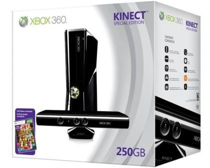 Xbox 360 Konsole (250 GB) + Kinect Bundle für 249 Euro (offline)