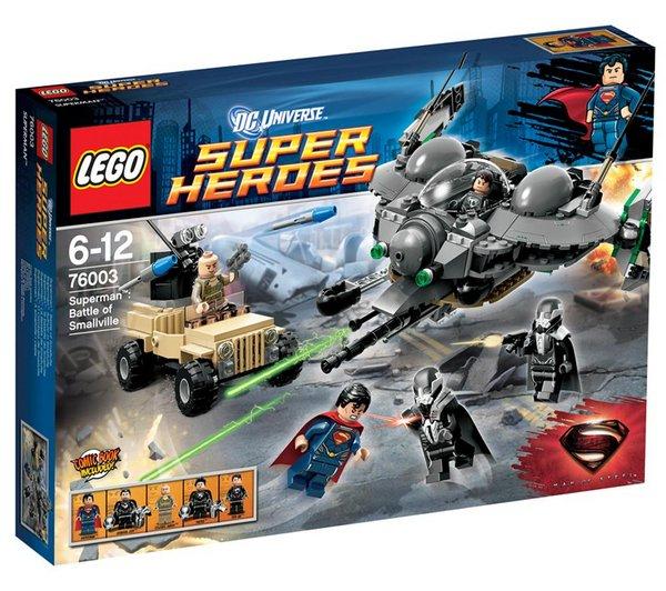 Lego Superman Battle of Smallville (76003) für 29,86 € @Pixmania