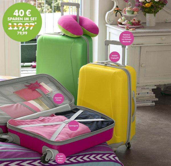 Online NKD (Abholung vor Ort) - Koffer Set 3-teilig = groß, mittel, klein TOP!