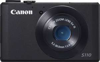 Canon PowerShot S110 Schwarz, Digitalkamera für 189,00 € inkl. VSK