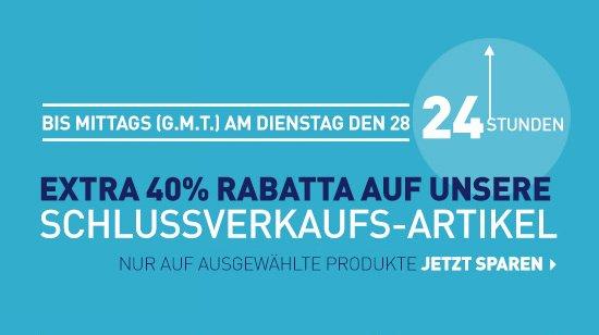 NBA STORE EU - 24 Stunden! Extra 40% Rabatta auf Schlussverkaufs-Artikel?