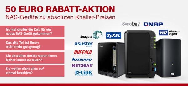notebookbilliger.de NAS Rabatt Aktion gültig bis zum 31.01.2014