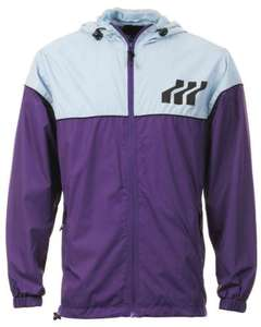 Boxfresh Men's Bronchos colour Block Jacket - Purple