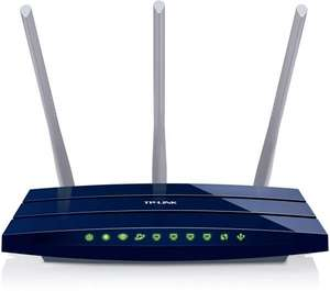 "TP-Link™ - Wireless Netzwerk Gigabit Router ""TL-WR1043ND"" für €34,90 [@Amazon.de]"
