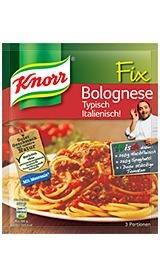50% Cashback: KNORR Fix Bolognese Typisch Italienisch