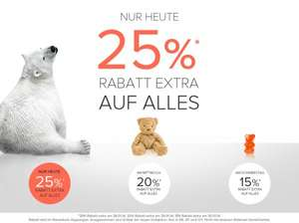 [www.dressforless.de] Nur heute 25% Extra auf Alles - z.B. günstige Hilfiger Hemden