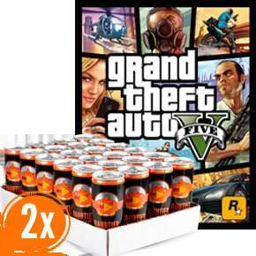 2 Trays Raubtierbrause kaufen und GTA 5 für PS3 gratis bekommen