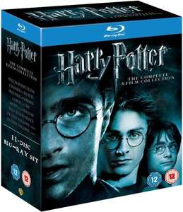 (UK) Harry Potter - The Complete Collection Blu-ray (1-7.2) @thehut.com