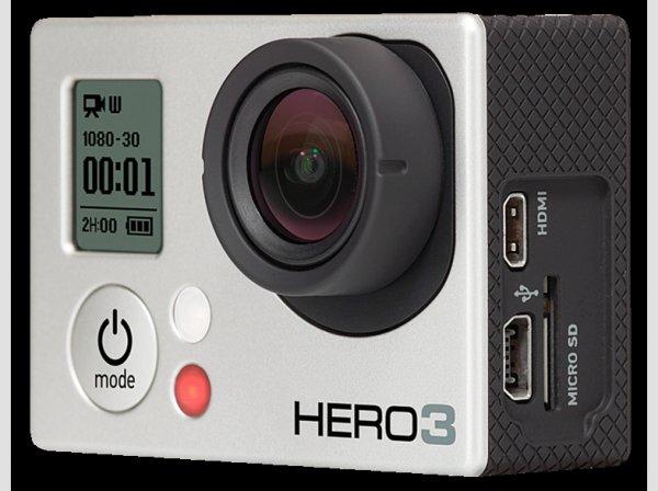 GoPro Hero3 Silver Edition für 199€ [MediaMarkt Online]