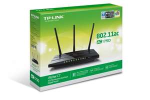 "TP-Link™ - Dual-Band Wireless Gigabit Router ""Archer C7 AC1750"" (WLAN 802.11a/b/g/n/ac) für €88.- [@Amazon.de]"
