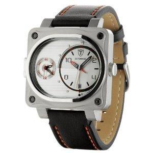 DETOMASO Herrenuhr Cortona SilverTwoZones SL1527D-CH beim Amazon-Uhrensale nur 57,97,-€
