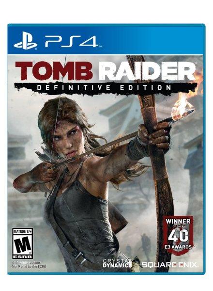PS4 Tomb Raider Definitive Edition 43€ US Store mit PSN Guthaben