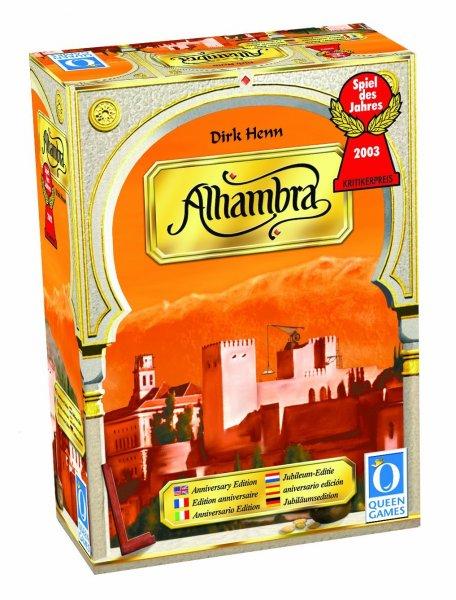 """Brettspiel: """"Der Palast von Alhambra"""", Limited-Edition 6036 für 15,24 €"""