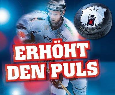 2 Tickets für ein DEL-Heimspiel der Eisbären Berlin in der o2 World ab 19,75€ keine Versandkosten!